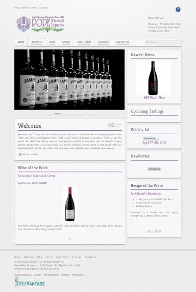 Pope Wines & Liquors